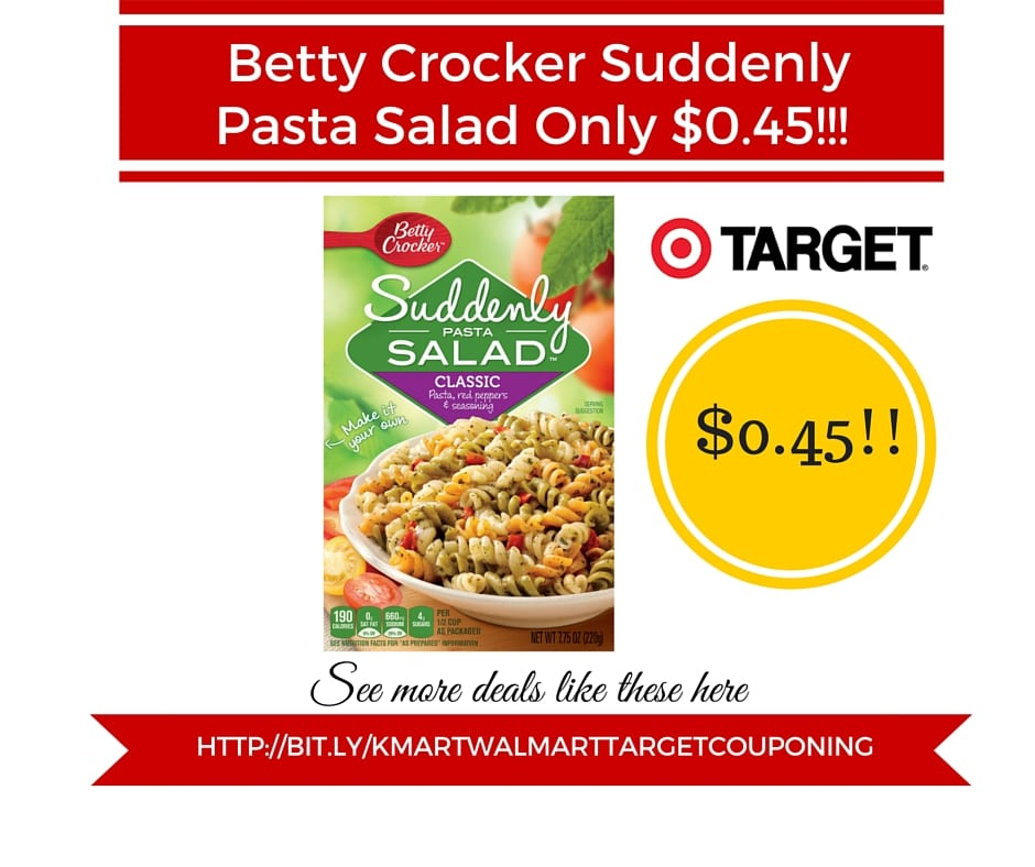 Betty crocker suddenly salad coupons 2018