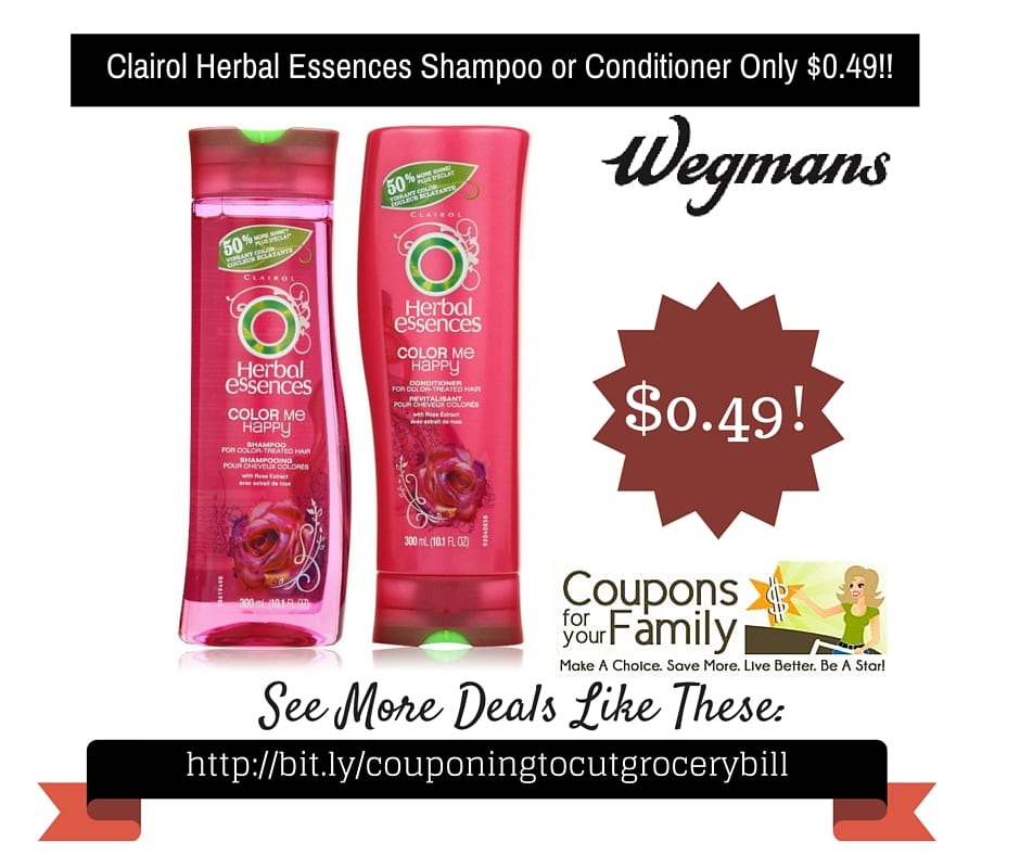 Herbal essences shampoo coupons