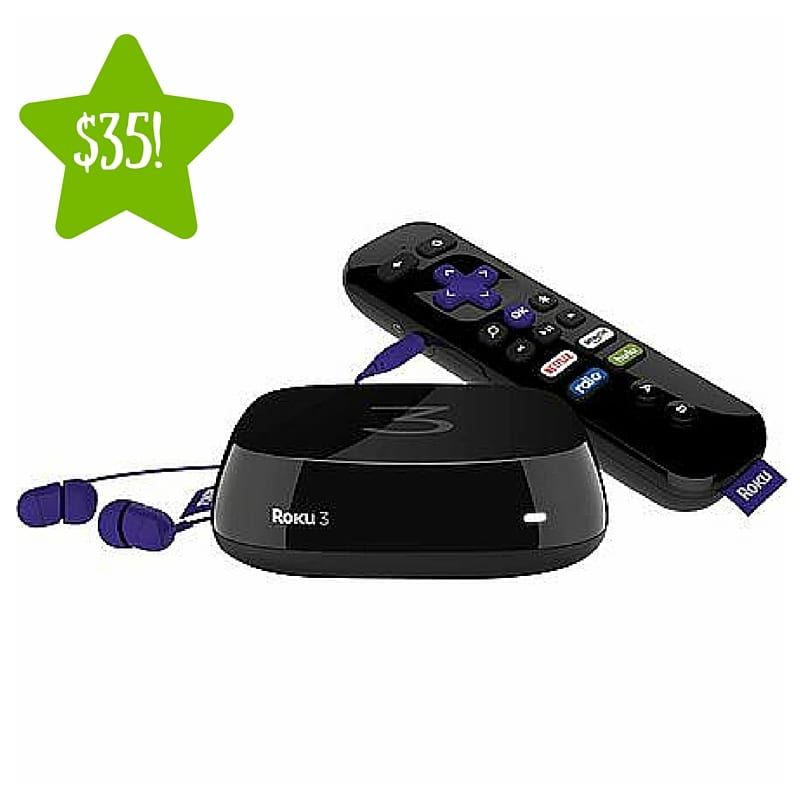 $10 Off Any Roku 3 Player + Free Shipping on Xd and Xs Players Click on this great deal and avail an amazing discount. Discover amazing deals that will save you money, only from Roku.
