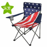 Northwest Territory American Flag Chair Only $4.91 After Points (Reg. $14.99)
