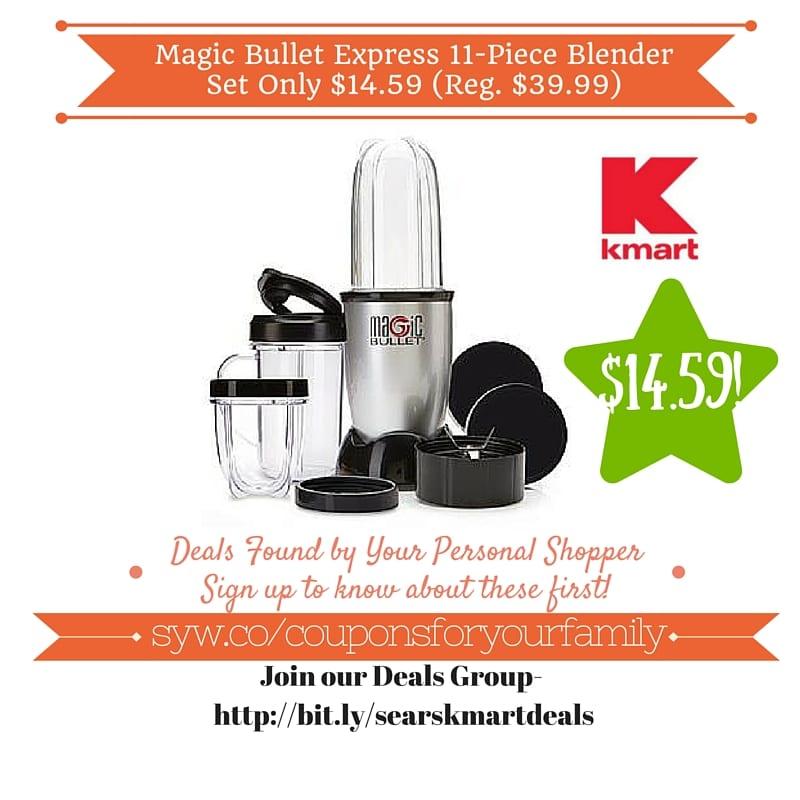 magic bullet blender coupon code