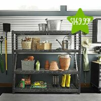 Gladiator 77″ 4 Shelf Tool-Free Rack Only $149.99 (Reg. $300)