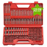 Craftsman Ultimate Screwdriver Bit Set 208 Pcs Only $19.99 (Reg. $39.99)