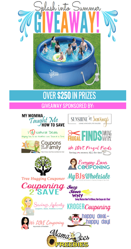 splash into summer giveaway