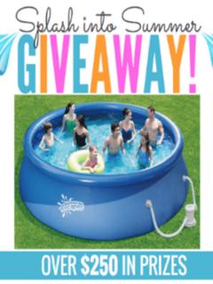 splash into summer giveaway