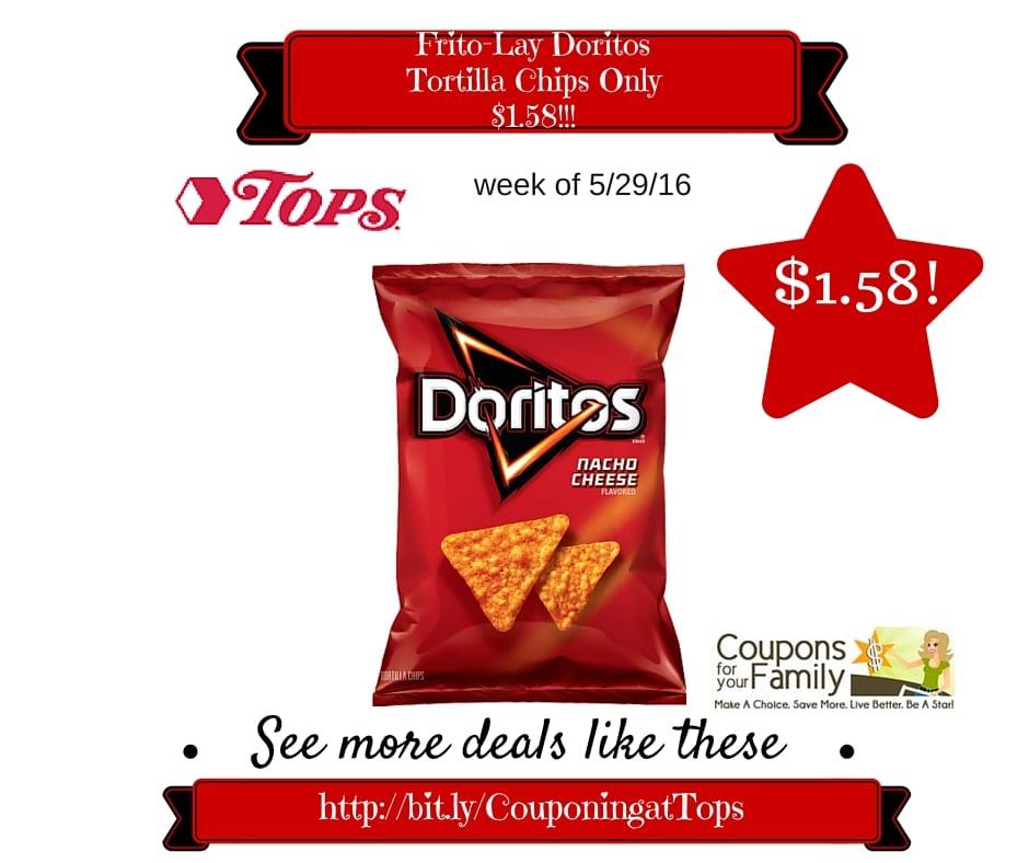Doritos tortilla chips coupons