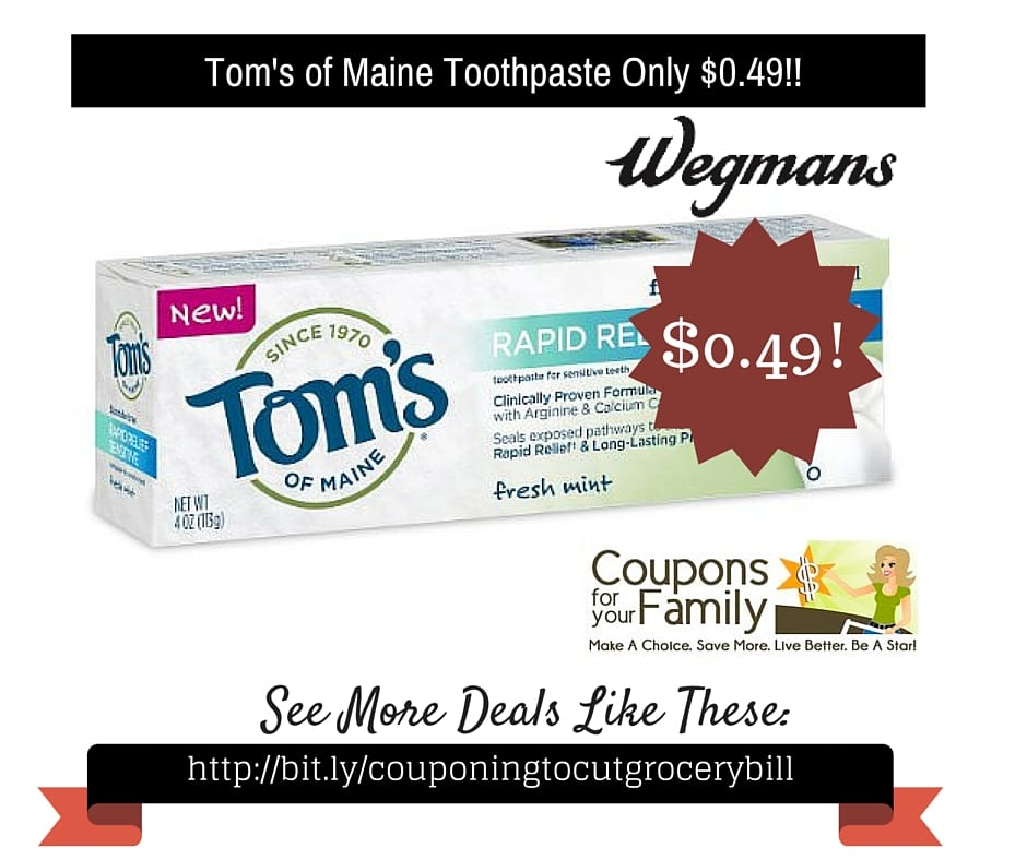 Organic Toothpaste Whole Foods
