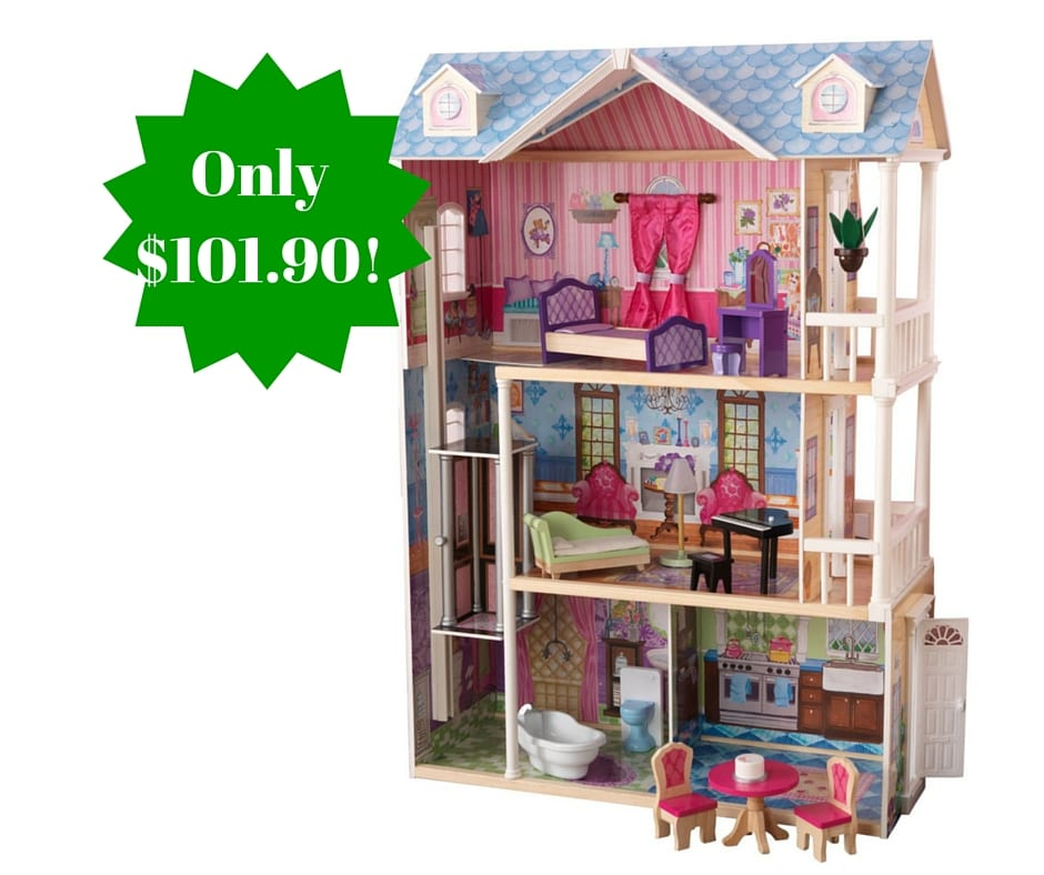 kidkraft my dreamy dollhouse with furniture only 101 90