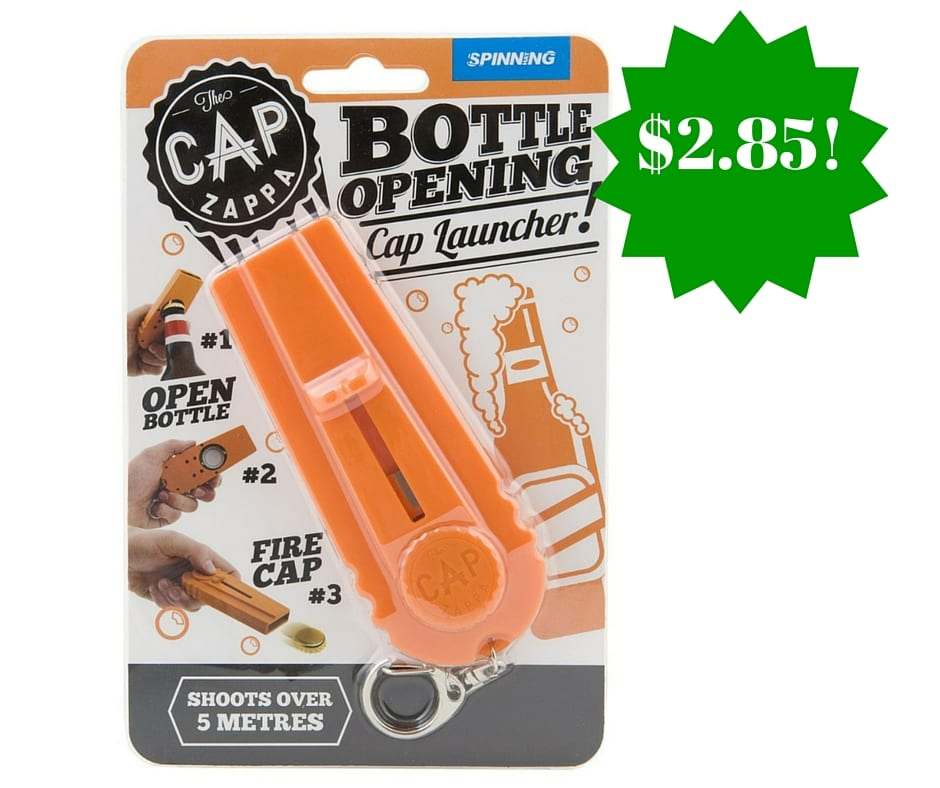 spinning hat cap zappa bottle opener only shipped. Black Bedroom Furniture Sets. Home Design Ideas
