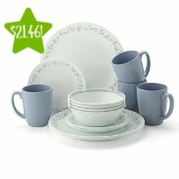 Corelle Livingware 16-Piece Dinnerware Set Only $21.46 (Reg. $39.99)