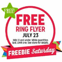 FREE Radio Flyer (7/23 Only)