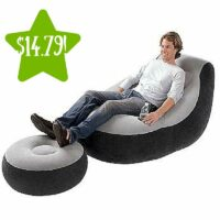 Intex Inflatable Lounge Chair with Ottoman Only $14.79 (Reg. $30)