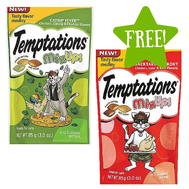 FREE Whiskas Temptations Mix-Ups 3 Oz. Bag of Cat Treats (2/24-2/26) LOAD TODAY