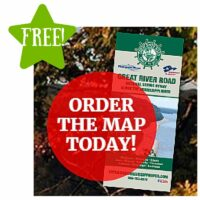 FREE Great River Road 10-state Mississippi River Map