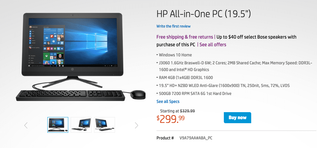 Hp computer discounts coupons