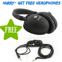 Get $100 Headphones for FREE after points –hurry!!!