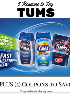 3 reasons to Try Tums