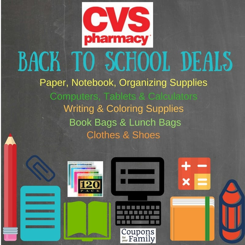 cvs back to school deals aug 14