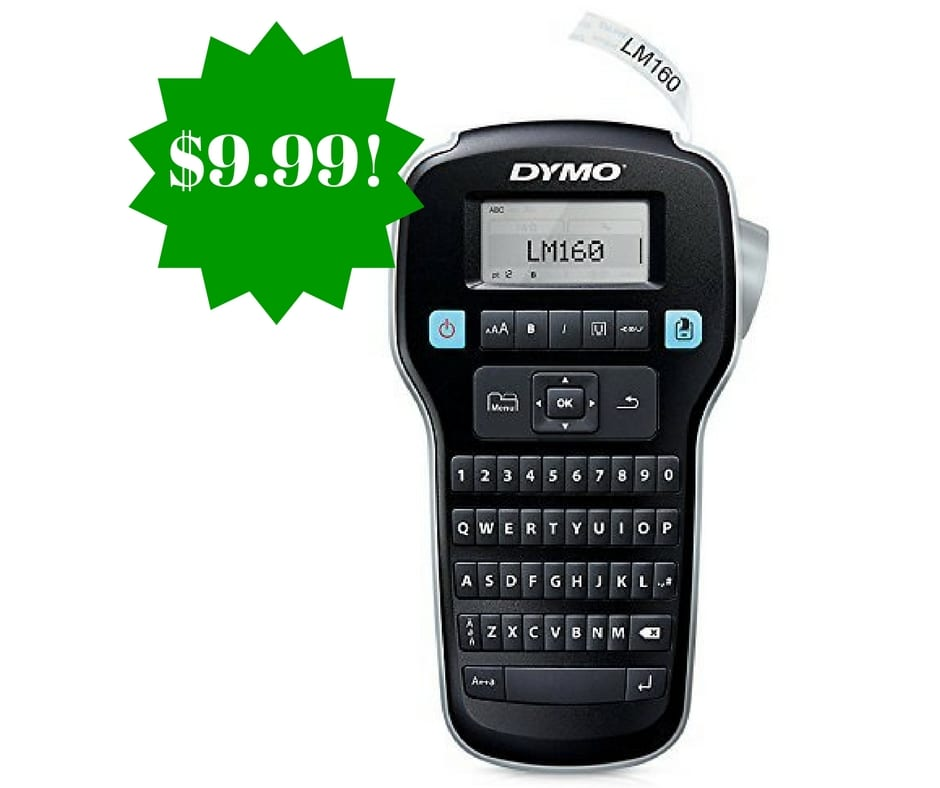 DYMO LabelManager 160 Hand-Held Label Maker Only $9.99 (Reg. $15)