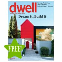 FREE Dwell Magazine Subscription