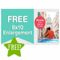 FREE 8×10 Photo Print