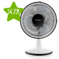 Kenmore 35012 12″ Table Fan Only $4.79 (Reg. $25)