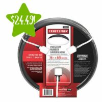 Craftsman 5/8 in. x 75 ft. Hose Only $24.49 (Reg. $49)