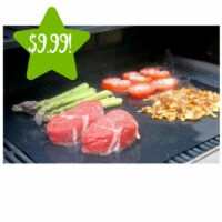 Barbeque Grill Sheet 2 Packs Only $9.99 (Reg. $40)
