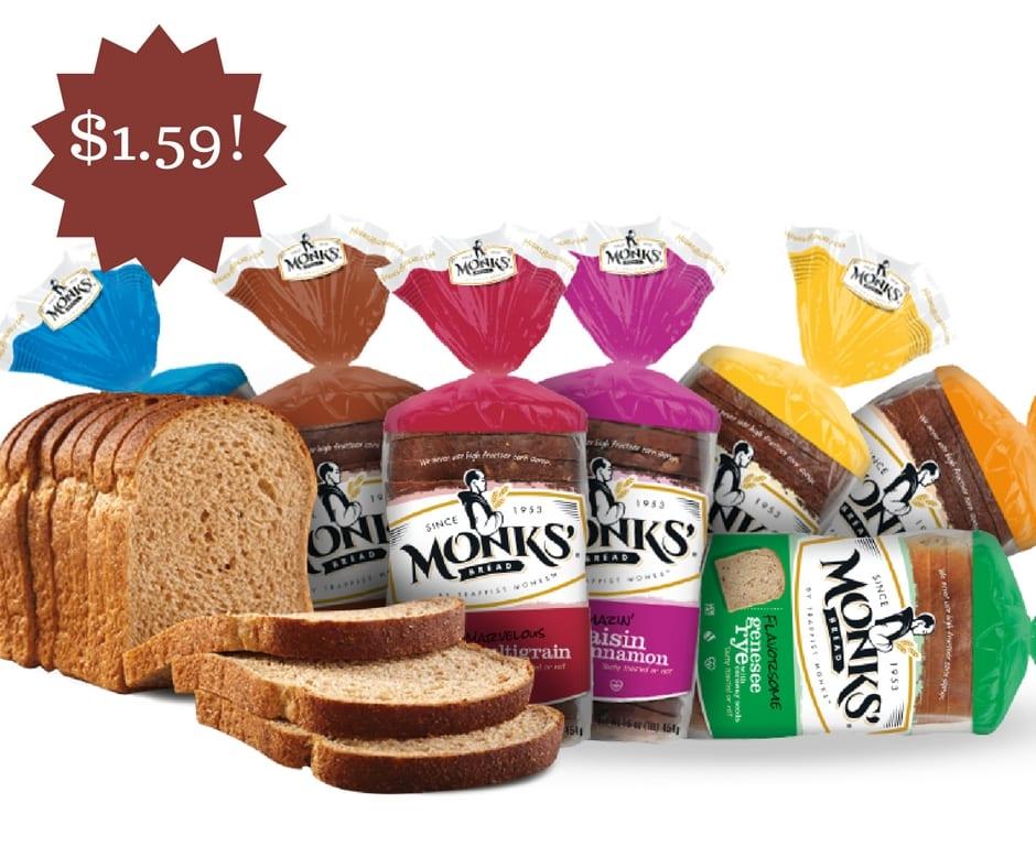 Wegmans: Monks' Bread Only $1.59