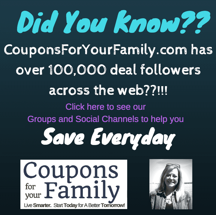 Save everyday with CouponsforYourFamily.com