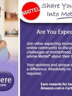 Fisher Price Mattel Expecting Moms