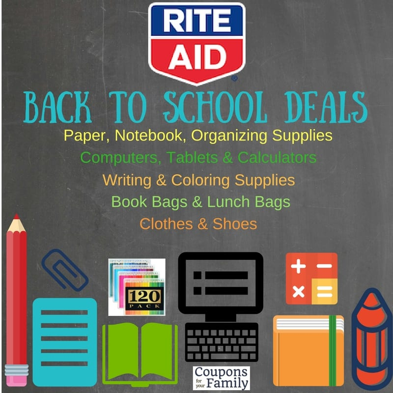 Rite Aid Stock Quote: Rite Aid Back To School Deals Aug 14