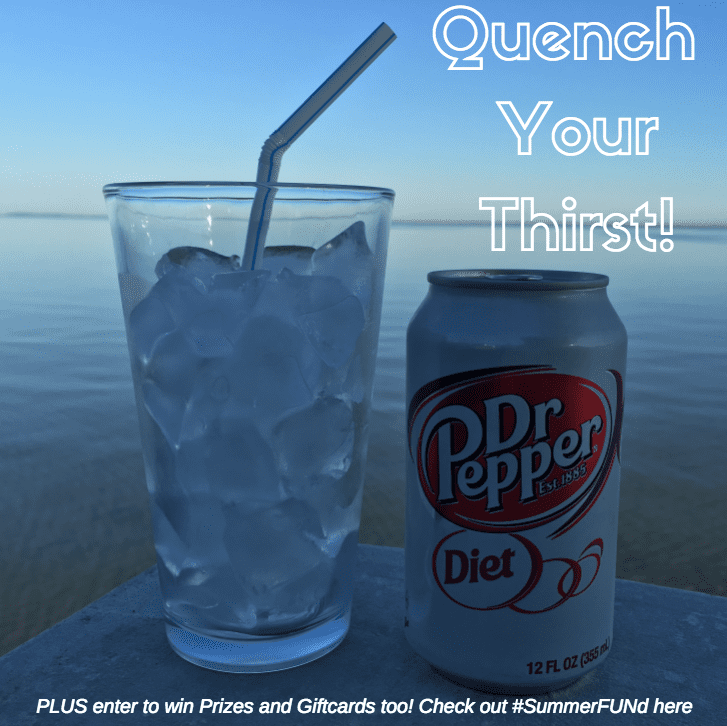 Enter the Diet Dr Pepper® #SummerFUNd Giveaway for chance to win a $10, $20, $250 or $1,000 Walmart e-Gift Card!