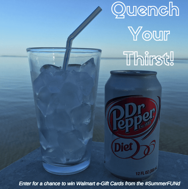 diet dr pepper quench your thirst