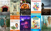 Books to Download for Free Sept 26:  Diet Free Me, Bridge of Faith, Happiness At Work, My Playful Kitchen, No Way Out & more