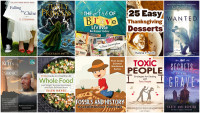 Books to Download for Free Sept 28:  25 Easy Thanksgiving Desserts, Fossils and History, Falling for Chloe, Wanted & more