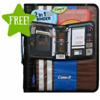 FREE Case It 2 In 1 Dual Ring Binder 1.5 Inch After Points