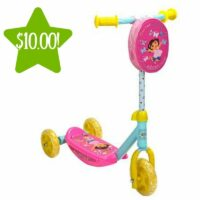 Dora the Explorer 3 Wheel Scooter Only $10 (Reg. $41)