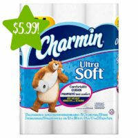 Charmin Ultra Soft Toilet Paper 12 Double Rolls Only $5.99