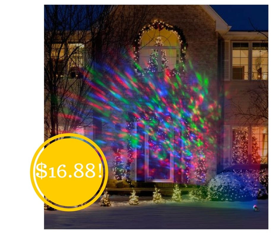 Lightshow Kaleidoscope Multi-Colored Christmas Lights Only $16.88 |