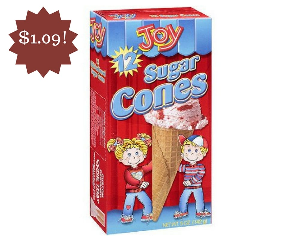 Wegmans: Joy Sugar Cones Only $1.09