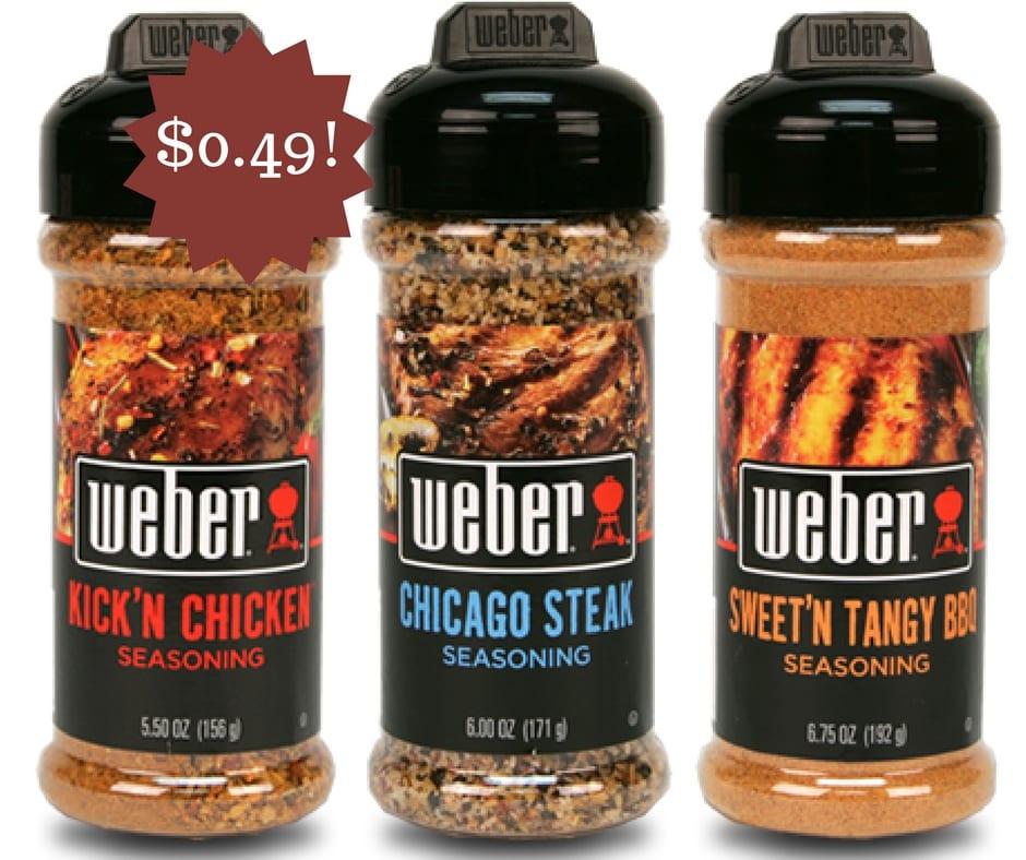 Wegmans: Weber Seasoning Only $0.49