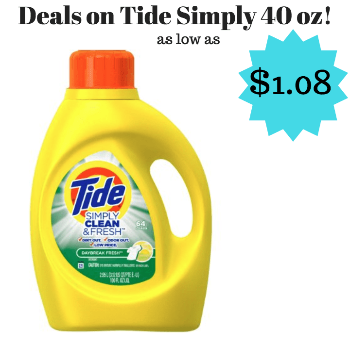 Tide Simply coupon