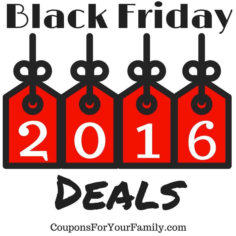 Black Friday Deals 2016