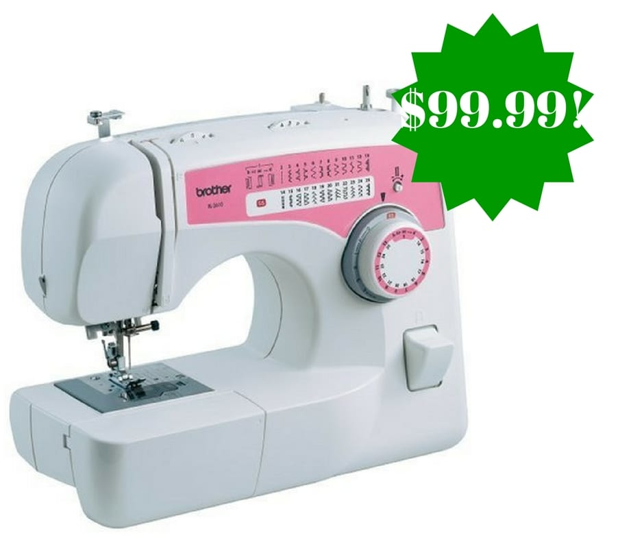 Amazon: Brother XL2610 Free-Arm Sewing Machine Only $99.99 Shipped