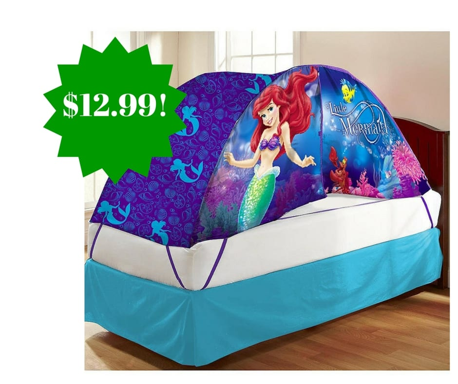 Amazon Disney Ariel Bed Tent with Push Light Twin Toy Only $12.99 (Reg.  sc 1 st  Coupons For Your Family & Amazon: Disney Ariel Bed Tent with Push Light Twin Toy Only $12.99 ...