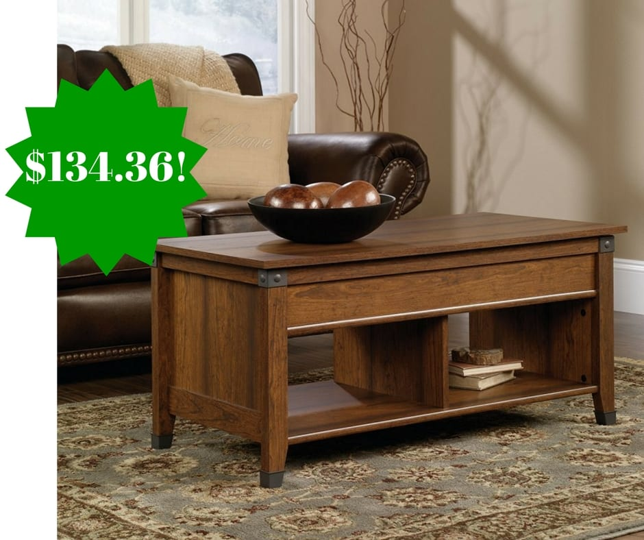 Amazon: Sauder Carson Forge Lift-Top Coffee Table Only $134.36 Shipped
