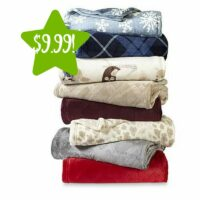 Kmart: Cannon Velvet Plush Throw Only $9.99 (Reg. $15)