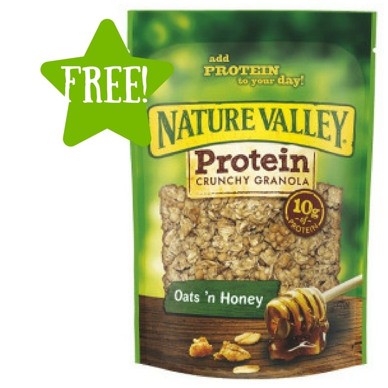 Dollar Tree: FREE Nature Valley Protein Crunchy Granola (Last Day)