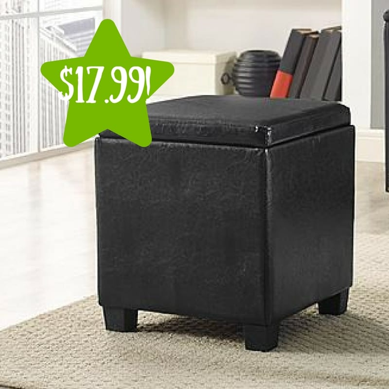 Kmart Essential Home Lidded Storage Ottoman Only 17 99